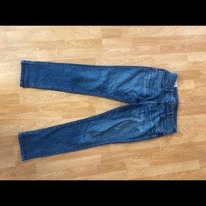 Abercrombie & Fitch Athletic Skinny Stretch Jeans